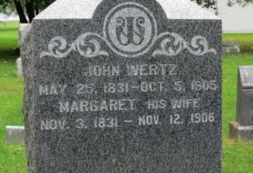 WERTZ, JOHN - Medina County, Ohio | JOHN WERTZ - Ohio Gravestone Photos