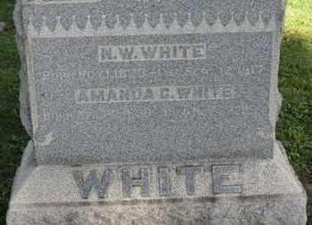 WHITE, N.W. - Medina County, Ohio | N.W. WHITE - Ohio Gravestone Photos