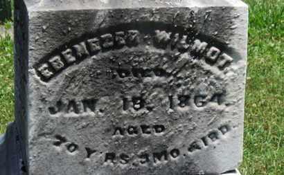 WILMOT, EBENEZER - Medina County, Ohio | EBENEZER WILMOT - Ohio Gravestone Photos