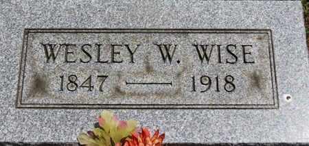 WISE, WESLEY W. - Medina County, Ohio | WESLEY W. WISE - Ohio Gravestone Photos