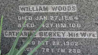 BERKEY WOODS, CATHARINE - Medina County, Ohio | CATHARINE BERKEY WOODS - Ohio Gravestone Photos