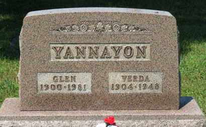 YANNAYON, GLEN - Medina County, Ohio | GLEN YANNAYON - Ohio Gravestone Photos