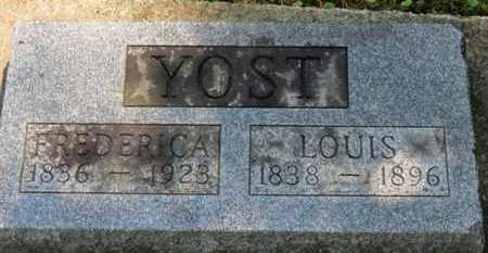 YOST, FREDERICA - Medina County, Ohio | FREDERICA YOST - Ohio Gravestone Photos