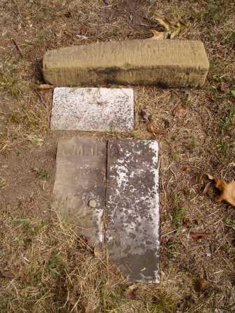 A. ? H., FOOTSTONE - Meigs County, Ohio   FOOTSTONE A. ? H. - Ohio Gravestone Photos