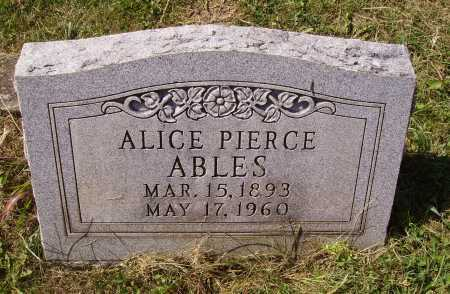 MIGHT ABLES, ALICE - Meigs County, Ohio | ALICE MIGHT ABLES - Ohio Gravestone Photos