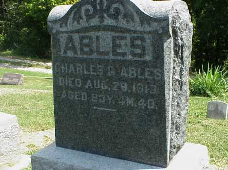 ABLES, CHARLES G. - Meigs County, Ohio   CHARLES G. ABLES - Ohio Gravestone Photos