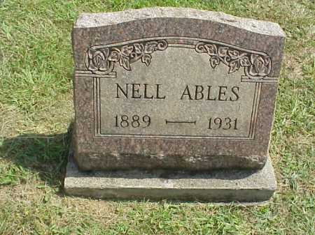ABLES, NELL - Meigs County, Ohio | NELL ABLES - Ohio Gravestone Photos