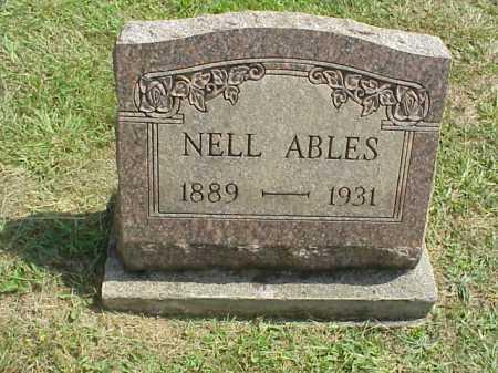 WIGGINS ABLES, NELL - Meigs County, Ohio | NELL WIGGINS ABLES - Ohio Gravestone Photos
