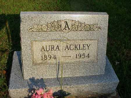 ACKLEY, AURA - Meigs County, Ohio | AURA ACKLEY - Ohio Gravestone Photos