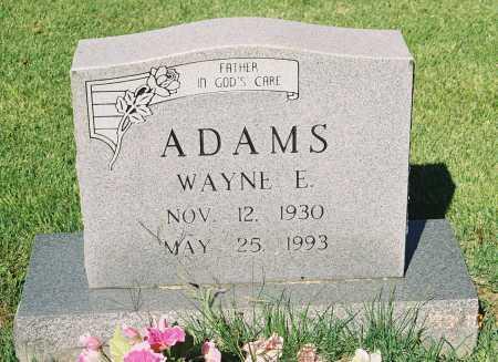 ADAMS, WAYNE E. - Meigs County, Ohio   WAYNE E. ADAMS - Ohio Gravestone Photos