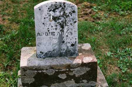 ADAMS, ADDIE - Meigs County, Ohio   ADDIE ADAMS - Ohio Gravestone Photos