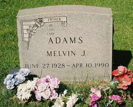 ADAMS, MELVIN J. - Meigs County, Ohio | MELVIN J. ADAMS - Ohio Gravestone Photos