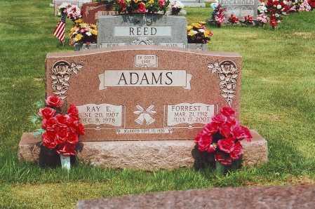 ADAMS, RAY E. - Meigs County, Ohio   RAY E. ADAMS - Ohio Gravestone Photos