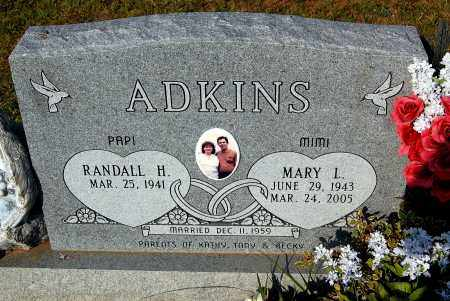 ADKINS, RANDALL H - Meigs County, Ohio | RANDALL H ADKINS - Ohio Gravestone Photos