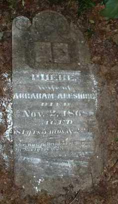 ALESHIRE, PHEBE - Meigs County, Ohio   PHEBE ALESHIRE - Ohio Gravestone Photos