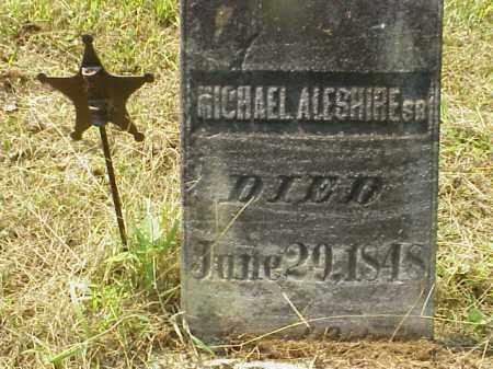 ALESHIRE SR., MICHAEL - Meigs County, Ohio | MICHAEL ALESHIRE SR. - Ohio Gravestone Photos