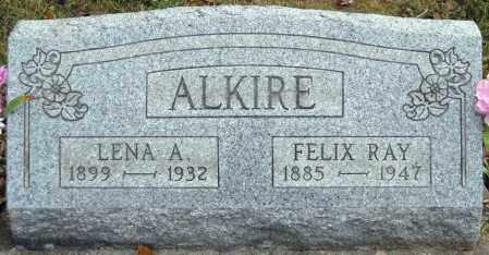 ALKIRE, LENA A - Meigs County, Ohio | LENA A ALKIRE - Ohio Gravestone Photos