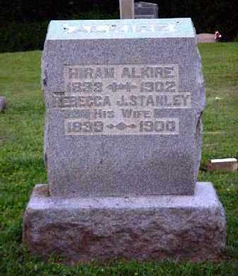ALKIRE, REBECCA J. - Meigs County, Ohio | REBECCA J. ALKIRE - Ohio Gravestone Photos