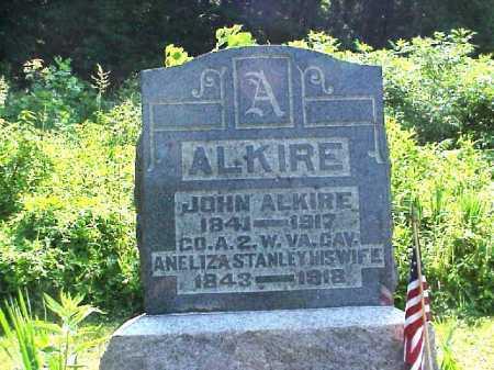ALKIRE, JOHN - Meigs County, Ohio | JOHN ALKIRE - Ohio Gravestone Photos