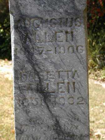 ALLEN, AUGUSTUS - Meigs County, Ohio | AUGUSTUS ALLEN - Ohio Gravestone Photos