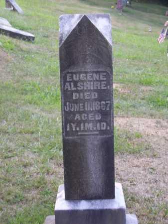 ALSHIRE, EUGENE - Meigs County, Ohio | EUGENE ALSHIRE - Ohio Gravestone Photos