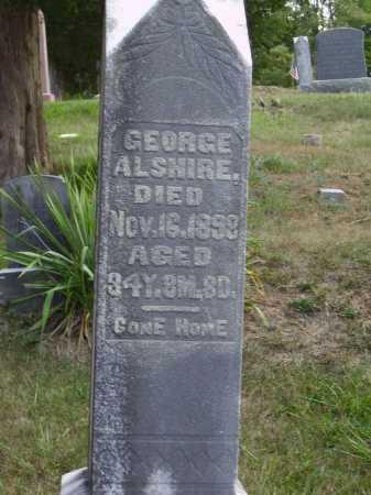 ALSHIRE, GEORGE - Meigs County, Ohio   GEORGE ALSHIRE - Ohio Gravestone Photos