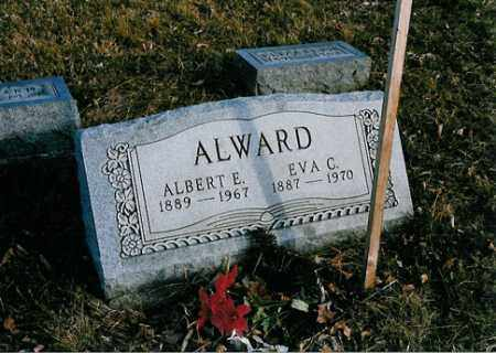 ALWARD, ALBERT E. - Meigs County, Ohio | ALBERT E. ALWARD - Ohio Gravestone Photos