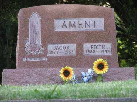 AMENT, EDITH - Meigs County, Ohio | EDITH AMENT - Ohio Gravestone Photos