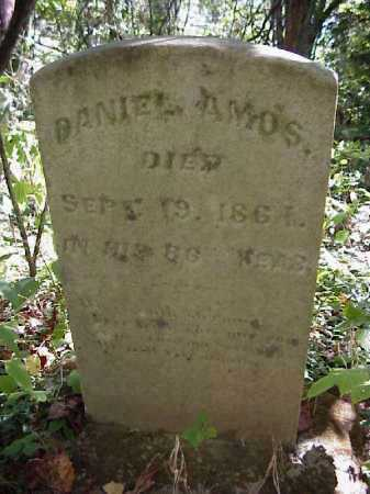 AMOS, DANIEL - Meigs County, Ohio | DANIEL AMOS - Ohio Gravestone Photos