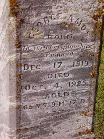 AMOS, GEORGE - CLOSEVIEW - Meigs County, Ohio   GEORGE - CLOSEVIEW AMOS - Ohio Gravestone Photos