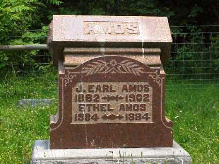 AMOS, ETHEL - Meigs County, Ohio | ETHEL AMOS - Ohio Gravestone Photos