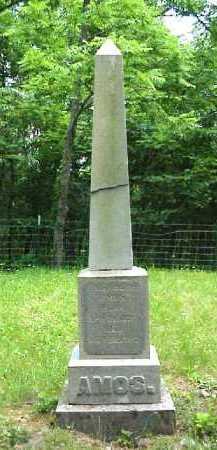 AMOS MONUMENT, ELIZABETH - Meigs County, Ohio   ELIZABETH AMOS MONUMENT - Ohio Gravestone Photos
