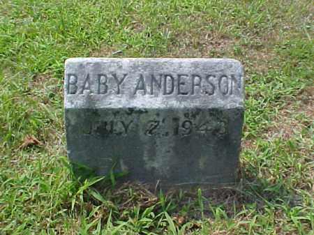 ANDERSON, BABY - Meigs County, Ohio | BABY ANDERSON - Ohio Gravestone Photos
