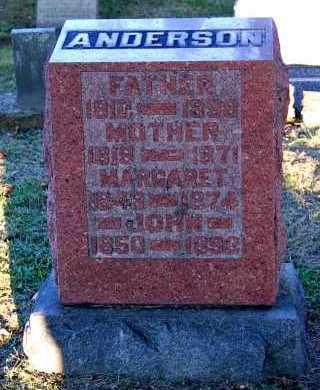 ANDERSON, FATHER - Meigs County, Ohio | FATHER ANDERSON - Ohio Gravestone Photos