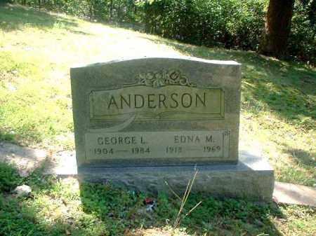 ANDERSON, GEORGE L. - Meigs County, Ohio | GEORGE L. ANDERSON - Ohio Gravestone Photos
