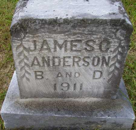 ANDERSON, JAMES C. - Meigs County, Ohio   JAMES C. ANDERSON - Ohio Gravestone Photos