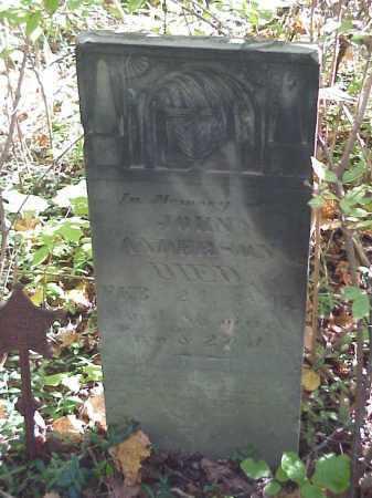 ANDERSON, JOHN - Meigs County, Ohio | JOHN ANDERSON - Ohio Gravestone Photos