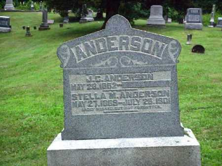 ANDERSON, J. C. [JAMES CURTIS] - Meigs County, Ohio | J. C. [JAMES CURTIS] ANDERSON - Ohio Gravestone Photos