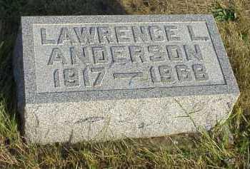 ANDERSON, LAWRENCE L. - Meigs County, Ohio   LAWRENCE L. ANDERSON - Ohio Gravestone Photos