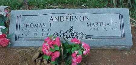 ANDERSON, MARTHA F. - Meigs County, Ohio | MARTHA F. ANDERSON - Ohio Gravestone Photos