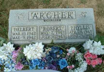 ARCHER, ROBERT - Meigs County, Ohio | ROBERT ARCHER - Ohio Gravestone Photos