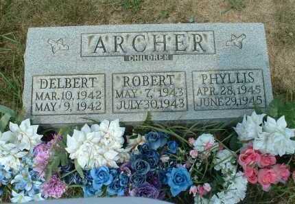 ARCHER, DELBERT - Meigs County, Ohio | DELBERT ARCHER - Ohio Gravestone Photos