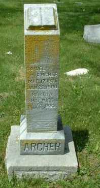 ARCHER, BERTHA - Meigs County, Ohio | BERTHA ARCHER - Ohio Gravestone Photos