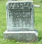 ARCHER, MINERVA - Meigs County, Ohio | MINERVA ARCHER - Ohio Gravestone Photos