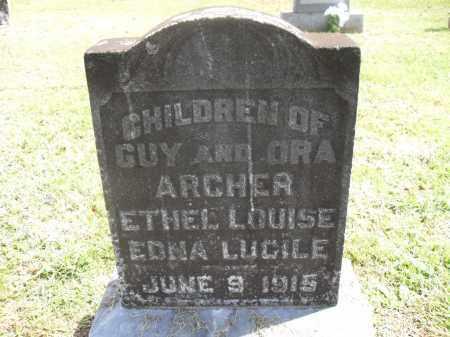ARCHER, EDNA LUCILE - Meigs County, Ohio | EDNA LUCILE ARCHER - Ohio Gravestone Photos