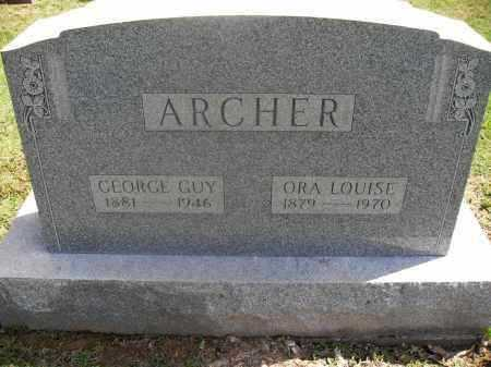 ARCHER, GEORGE GUY - Meigs County, Ohio | GEORGE GUY ARCHER - Ohio Gravestone Photos