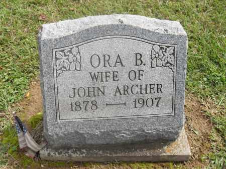 ARCHER, ORA B. - Meigs County, Ohio   ORA B. ARCHER - Ohio Gravestone Photos