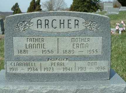 ARCHER, PHELANDER - Meigs County, Ohio | PHELANDER ARCHER - Ohio Gravestone Photos