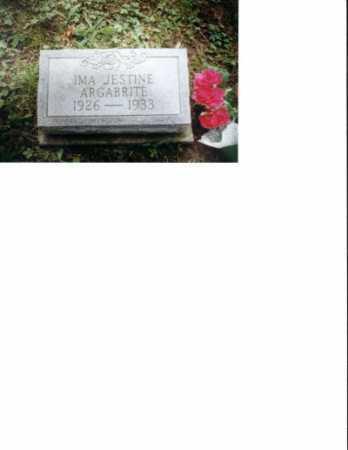 ARGABRITE, IMA JESTINE - Meigs County, Ohio   IMA JESTINE ARGABRITE - Ohio Gravestone Photos