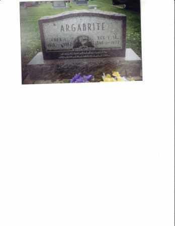 BAILEY ARGABRITE, CORA L. - Meigs County, Ohio   CORA L. BAILEY ARGABRITE - Ohio Gravestone Photos